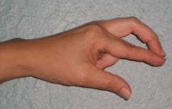 Finger Over Finger Self Muscle Testing