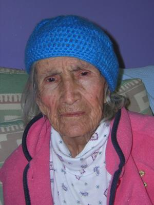 Maria with Alzheimers Disease (Age 92, 2011)